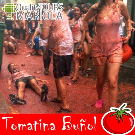Tomatina de buñol