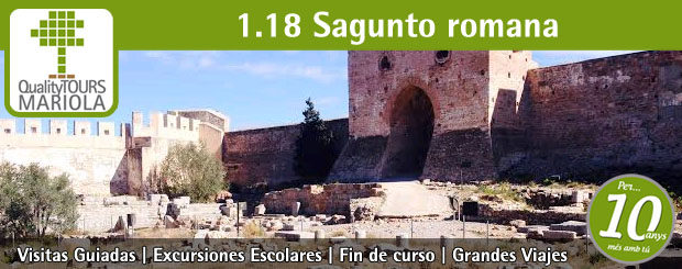 excursion escolar sagunto