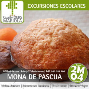 excursion escolar huevo de pascua