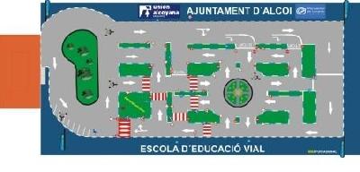 parque educación vial alcoy