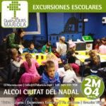 excursion escolar alcoi ciutat del nadal