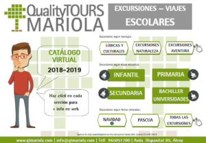 excursiones escolares quality tours mariola
