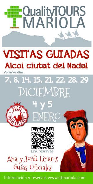 visitas guiadas Alcoy ciutat del Nadal