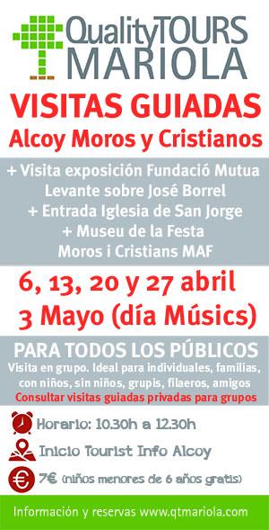 visitas guiadas Alcoy Moros y Cristianos