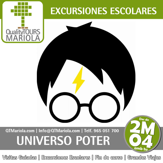 excursion escolar universo poter