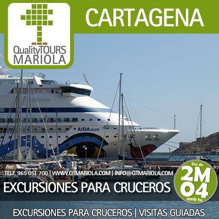excursiones para cruceros en cartagena