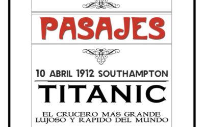 venta de pasajes para el titanic