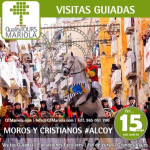 visitas guiadas moros y cristianos alcoy