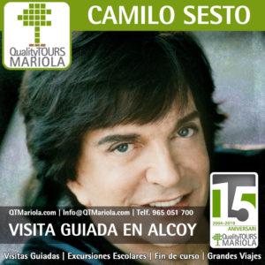 Visita guiada ruta Camilo Sesto en Alcoy