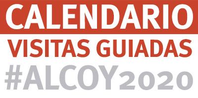 calendario visitas guiadas alcoy 2020