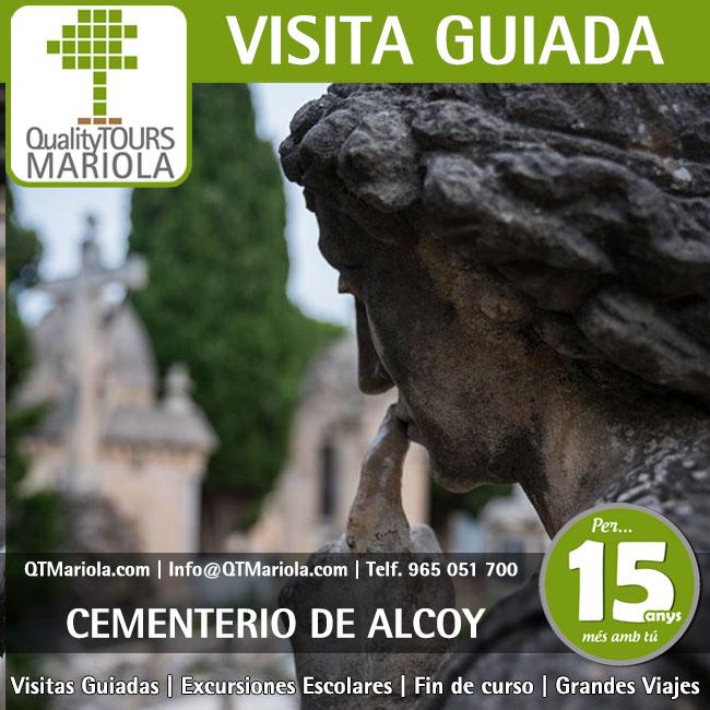 visita guiada cementerio alcoy, horario visitas cementerio alcoy