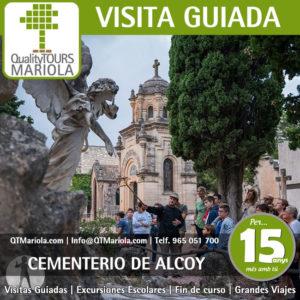 visita guiada cementerio alcoy, qué ver en Alcoy