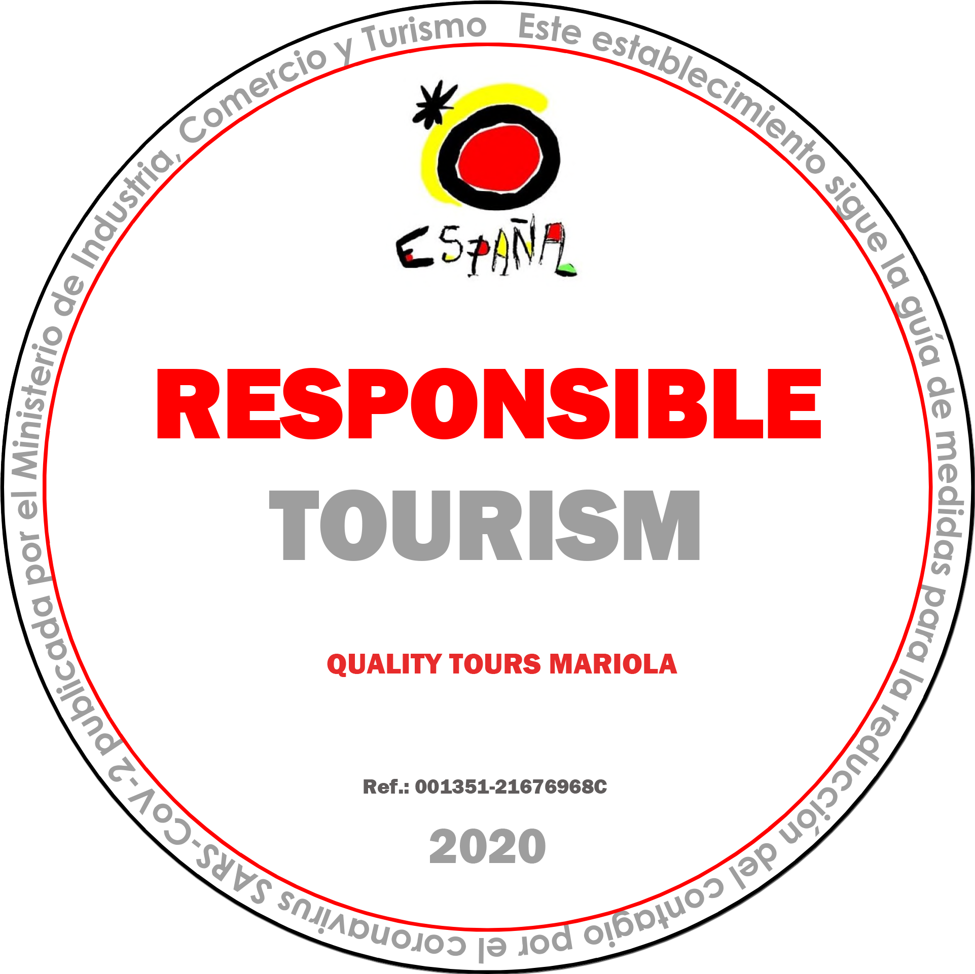 Responsible Tourism Certified