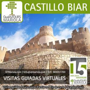 visitas guiadas virtuales castillo de Biar
