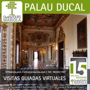 visitas guiadas virtuales palau ducal borja gandia
