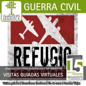 visitas guiadas virtuales refugio guerra civil alcoy