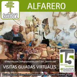 visitas guiadas virtuales taller alfareria agost