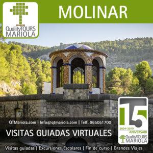 visitas guiadas virtuales yacimiento arqueológico industrial molinar alcoy