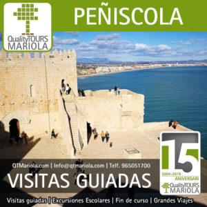 visitas guiadas castillo de peñiscola